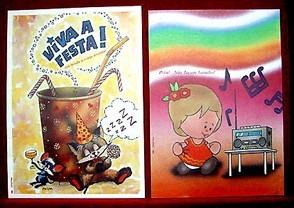 Papeis De Carta Cristina Série Completa (3 Séries) Lote 8