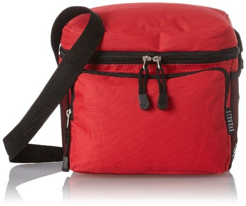 Bolsa De Almuerzo Everest Cooler, Color Rojo