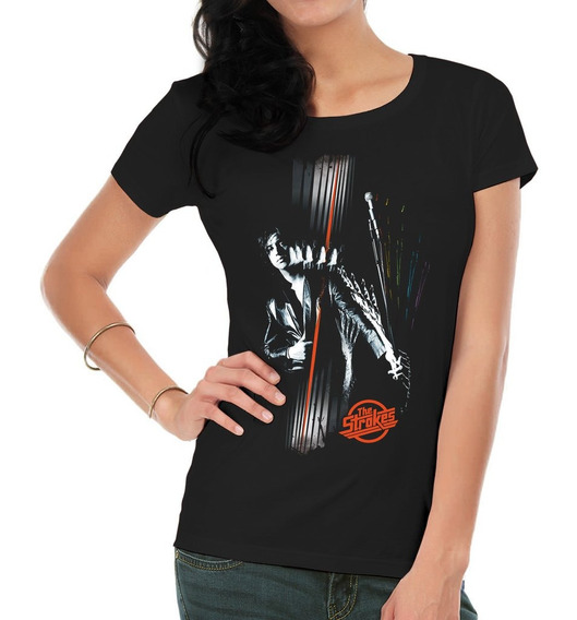 Remeras Estampadas Mujer The Strokes3 Inkpronta
