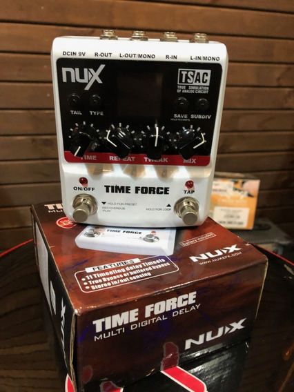 Pedal Nux Time Force Delay