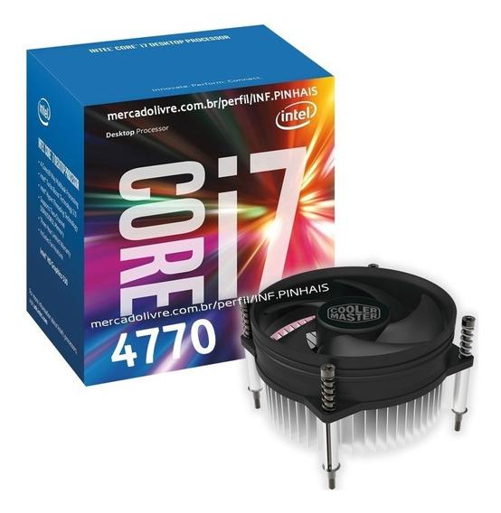 Processador Intel Core I7 4770 3.4 - 3.9 Ghz Lga 1150