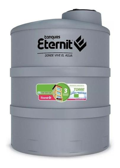 Tanque de agua Eternit Torre tricapa vertical polietileno 6000l