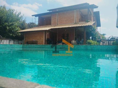 Chácara Com 3 Dormitórios À Venda, 1000 M² Por R$ 1.600.000,00 - Parque São Gabriel - Itatiba/sp - Ch0143