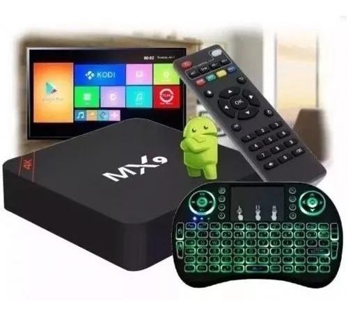 Conversor Smart Tv 3gb Ram 16gb Android + Teclado Netflix