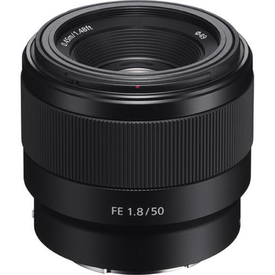 Lente Sony Fe 50mm F/1.8 (sel50f18f) Garantia Sem Juros