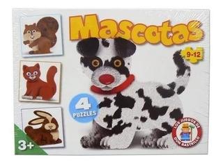 Puzzle Mascotas Don Rastrillo - Juego Ruibal Cuerpos Didacti