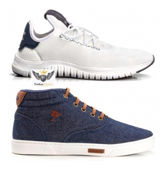 Kit 2 Tenis Sapatênis Masculino Casual Leve 2 Pague 1
