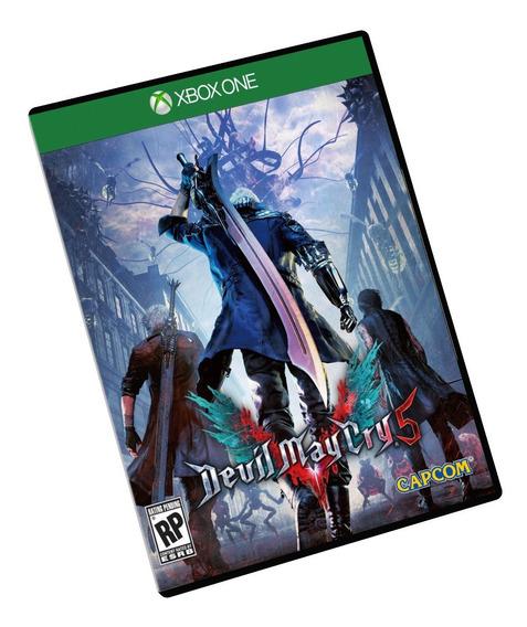 Devil May Cry 5 Deluxe Edition Xbox One Midia Digital Dmc + Brinde