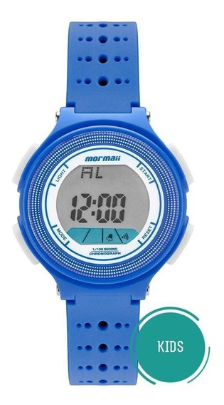 Relógio Mormaii Masculino Mo0974/8a Digital Infantil Azul