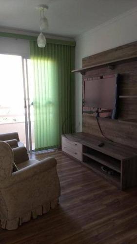 Apartamento Com 2 Dormitórios Para Alugar, 59 M² Por R$ 2.100,00/mês - Jardim - Santo André/sp - Ap10264