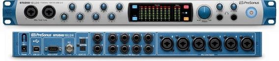 Interface De Audio Presonus Studio 1824 Usb 2.0 18x18