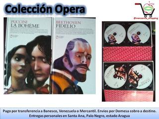 Libro Audio Coleccion Opera Boheme Fidelio Puccini Bethoven