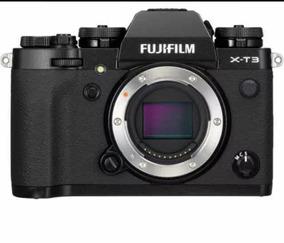 Camera Fuji Xt3 - Fujifilm Xt-3 - Preta - Corpo Zerada