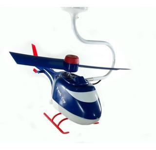 Ventilador De Teto Helicóptero Infantil Criança Bebe 110v