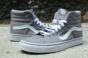 Vans Sk8-hi Canvas Frost Grey/vn-ot59l5o/envio Gratis!