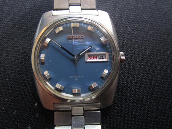 Relogio De Pulso Seiko 5606- 8010 Automático Anos 70