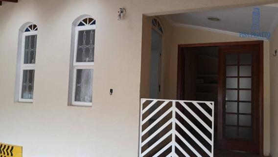 Casa Com 2 Dormitórios Para Alugar, 125 M² Por R$ 1.400/mês - Vila Monte Alegre V - Paulínia/sp - Ca2161