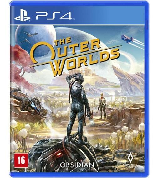 Jogo Midia Fisica The Outer Worlds Lacrado Original Para Ps4