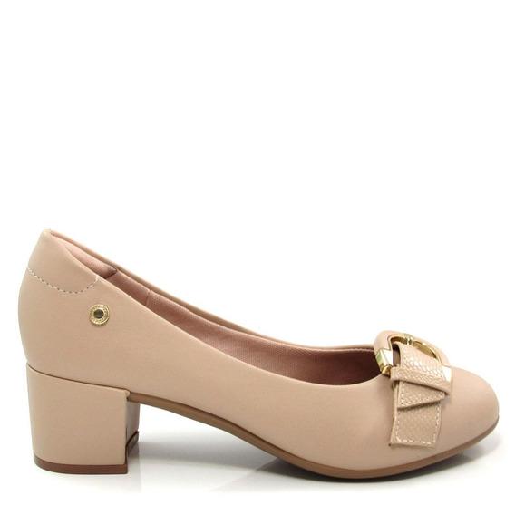 Scarpin Bico Redondo Feminino Olfer Shoes 1236-015
