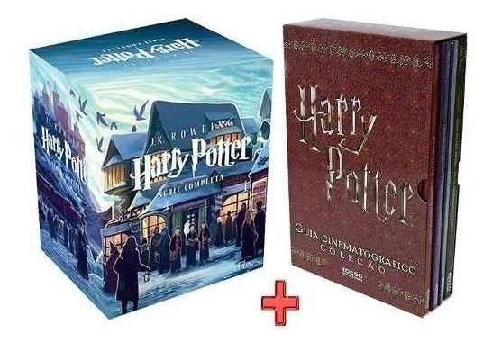 Livro-coleção Harry Potter (7 Volumes) +guia Lacrados