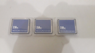 Cartão Compact Flash Industrial