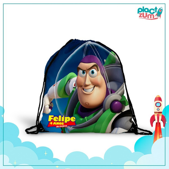 30 Mochilas Saco Lembrancinha Festa Toy Story 3