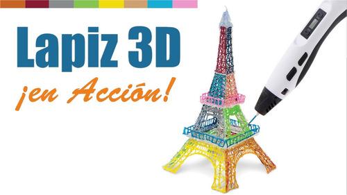 Imagen 1 de 4 de Increoble Lápiz 3d Impresora Lapicera + Filamentos   Prince