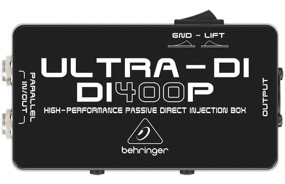 Direct Box Passivo Ultra-di Di 400p - Behringer
