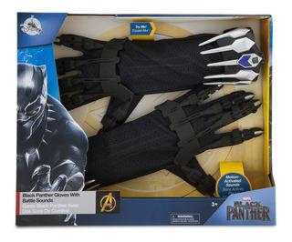 Marvel Black Panther Set Guantes Garra C/sonidos Disney Stor