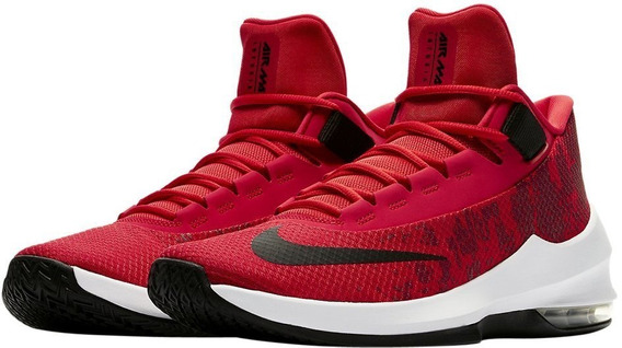 Zapatillas Nike Air Max Infuriate 2 Mid Baloncesto Red