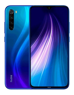 Smartphone Xiaomi Redmi Note 8 64gb Versão Global Desbloq