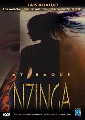 Dvd Atabaque Nzinga Novo Lacrado De Fabrica Com Luvas