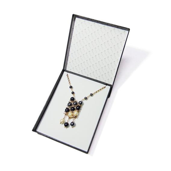 Collar De Perlas Para Dama Con Baño De Oro 18k Nice 217