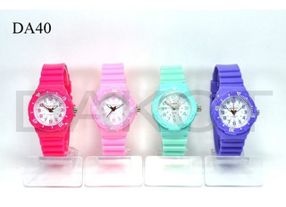 Reloj Dakot Junior Sumergible De Moda! Garantia Plaza Once