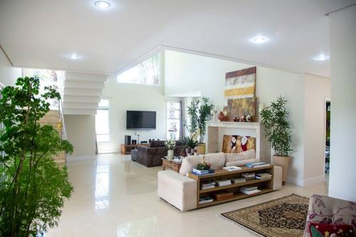 Imagem 1 de 17 de Sobrado Com 5 Dormitórios À Venda, 518 M² Por R$ 3.710.000 - Alphaville - Santana De Parnaíba/sp - So2149