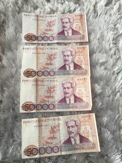 Cédula De 50000 Cruzeiros