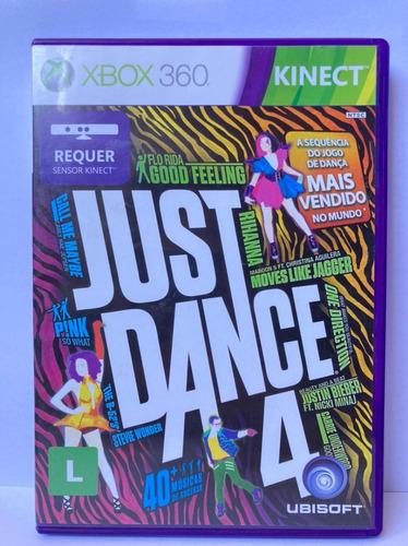 Imagem 1 de 2 de Jogo Seminovo Just Dance 4 Xbox 360 Pronta Entrega