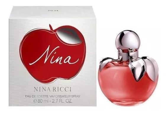 Perfume Nina Ricci Edt 80 Ml Feminino Lacrado