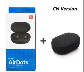 Xiaomi Redmi Airdots Tws Fones De Ouvido + Case De Silicone