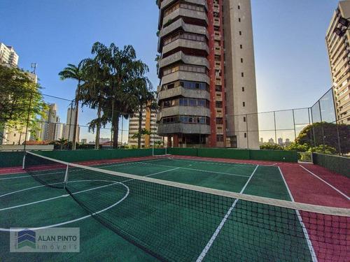 Apartamento Com 4 Suítes, 389 M² - Venda Por R$ 2.400.000 Ou Aluguel Por R$ 8.960/mês - Horto Florestal - Salvador/ba - Ap0660