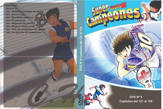 Supercampeones Capitán Tsubasa Serie Completa En Latino Dvd
