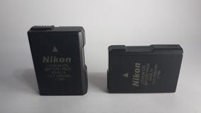 2 Baterias En-el14 P/ Nikon D3100, D3300, D5100, D5300, Etc.