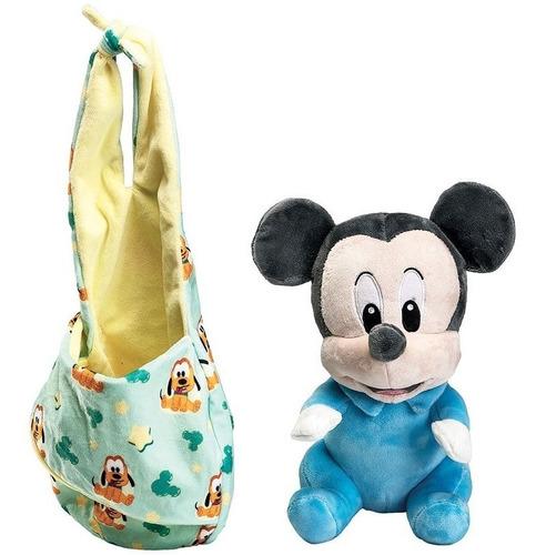 Pelúcia Disney Mickey Baby 25cm Turma Do Mickey Fun Original
