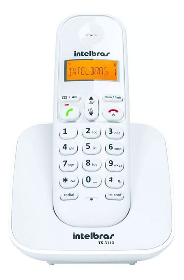 Telefone Intelbras Sem Fio Id Ts3110