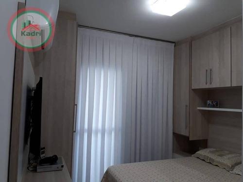 Apartamento Com 2 Dormitórios À Venda, 78 M² Por R$ 450.000,00 - Vila Guilhermina - Praia Grande/sp - Ap5288