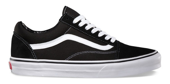 Tenis Vans Old Skool Black/white Vn000d3hy28 11288 Original