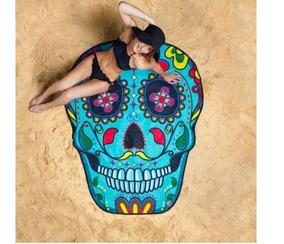 Manta Playa/picnic Mandala, Calavera + Envio Gratis