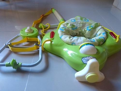 Jumper Hamaca Saltarin Avioncito Para Bebes - Marca Dreams