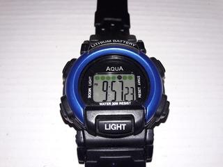Reloj Aqua(sumergible)