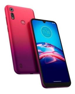 Celular Motorola E6s 32gb Rojo